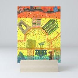 Whimsical City Mini Art Print