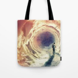 Shortcut to the Sea Tote Bag