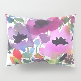 Little Poppy Bouquet Pillow Sham