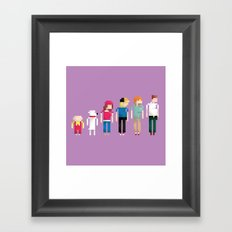 Family Guy Framed Art Print