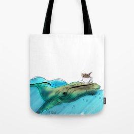 Coffee or Sea Tote Bag
