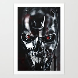 Your Terminated Art Print
