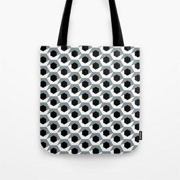 Hex shadow pattern  Tote Bag
