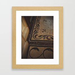 A saturday afternoon, rue de Paradis. Framed Art Print