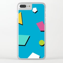 Fresh Prince 90s Pattern Clear iPhone Case