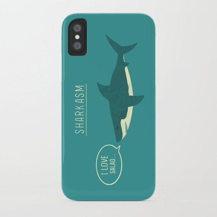 sharkasm iphone case