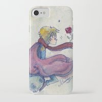 the little prince iPhone & iPod Cases featuring Little prince by Nikolazza