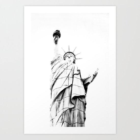 Lady L. Art Print