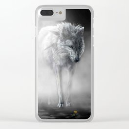 wolfflower Clear iPhone Case