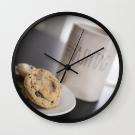 Life is short, eat cookies! Wall Clock