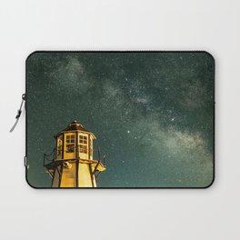 Mountain Light House Laptop Sleeve