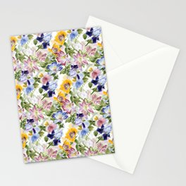 Heart to Heart Graphic tee Stationery Cards