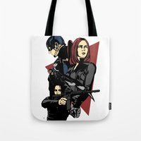 movie poster Tote Bags featuring Movie Poster by Shop 5