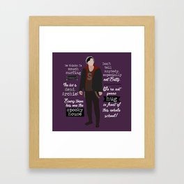 Jughead Jones Framed Art Print
