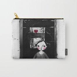 Niña en la ventana Carry-All Pouch