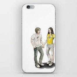 Yoon and Ash iPhone Skin