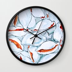 Shell Yeah Wall Clock
