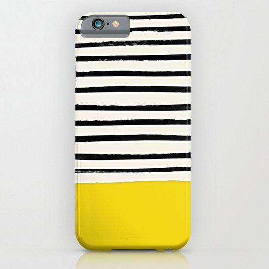 Sunshine x Stripes iPhone & iPod Case