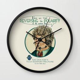 Reverse the Polarity Wall Clock