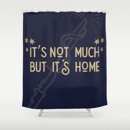 But Its Home Potter Claw Shower Curtain