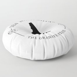 New Hampshire - The Granite State Floor Pillow