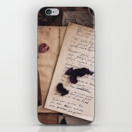 she puts the seeds in me, plant this dying tree iPhone Skin