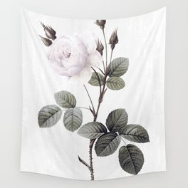 low colored rose pattern Wall Tapestry