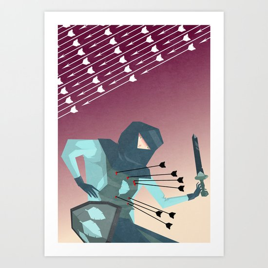 Winter's End  Art Print