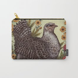 Rose Hen Carry-All Pouch