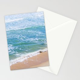 kissing the shoreline Stationery Cards