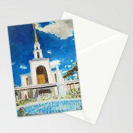 Sao Paulo Brazil LDS Temple Stationery Cards