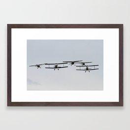Biplane Framed Art Print