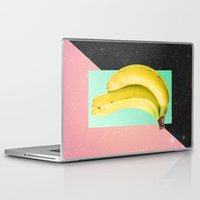 eat Laptop & iPad Skins featuring Eat Banana by Danny Ivan
