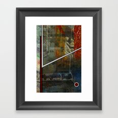 Comic Element Framed Art Print