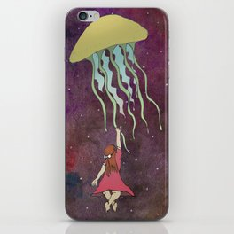 Space Jelly iPhone Skin