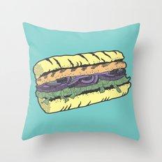 food masquerade Throw Pillow