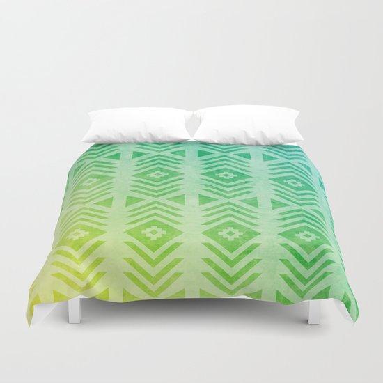 Aztec Pattern 01 Duvet Cover