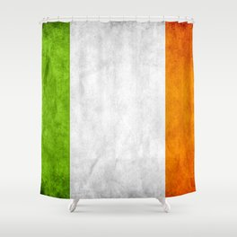 TriColour of Ireland bywhacky Shower Curtain