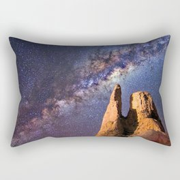 Night sky iii - galaxy Rectangular Pillow