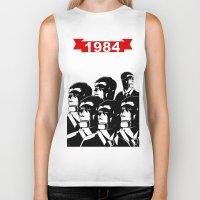 1984 Biker Tanks featuring 1984 by It's Mandra™