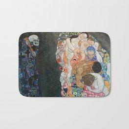 Gustav Klimt Death and Life Bath Mat