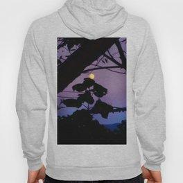 Moon and Catalpa Tree Hoody