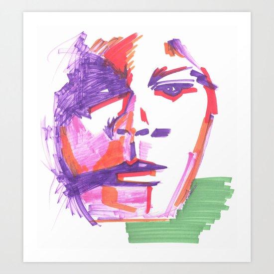 Aufgewühlt Art Print