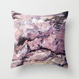 Rock Texture Throw Pillow