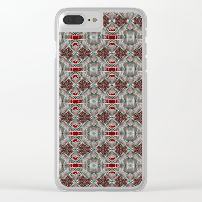 Strange Apparition Clear iPhone Case