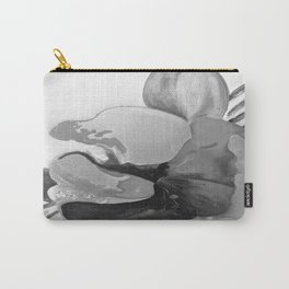 Burn The Flowers for Fuel Grey Carry-All Pouch