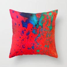 Color drop  Throw Pillow