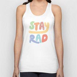 Stay Rad colors Unisex Tank Top