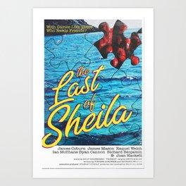 The Last of Sheila Art Print