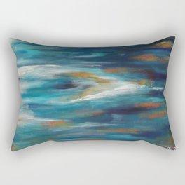 Moroccan Sea Spray Rectangular Pillow
